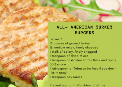 All-American Turkey Burgers