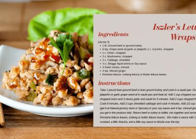Iszler's Lettuce Wraps