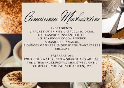 Cinnamon Mochaccino