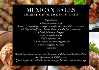 Mexican Balls