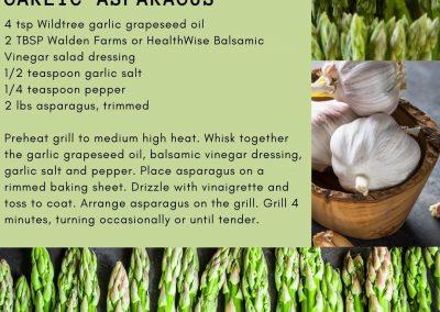 Grilled Balsamic- Garlic Asparagus (1)