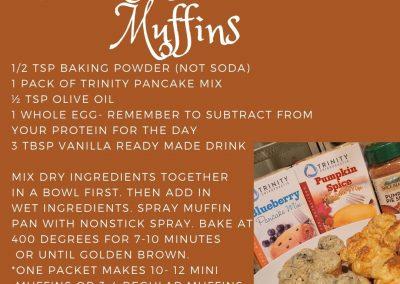 Trinity Pankcake Muffins